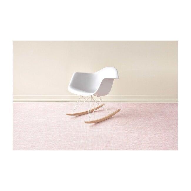 Mini Basketweave Floor Mat, Blush