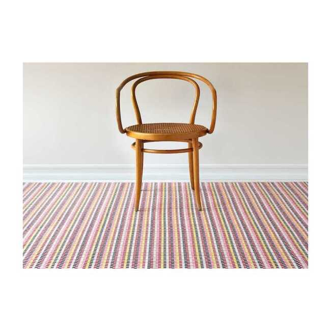 Heddle Floor Mat, Pansy