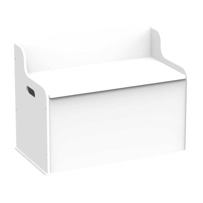 Fill with Fun Toy Box, White