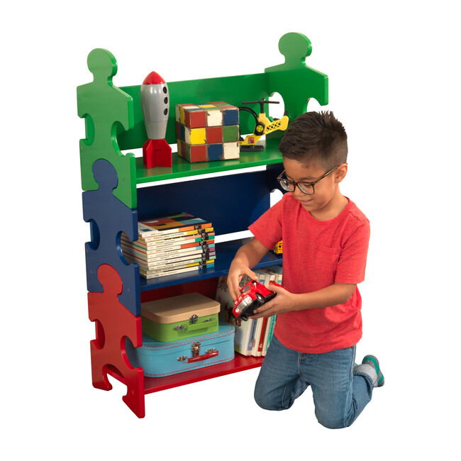 Puzzle Bookshelf, Primary