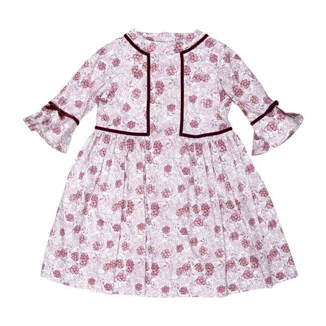Torera Dress, Pink