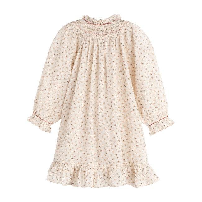 Clea Dress, Cream Parc Monceau