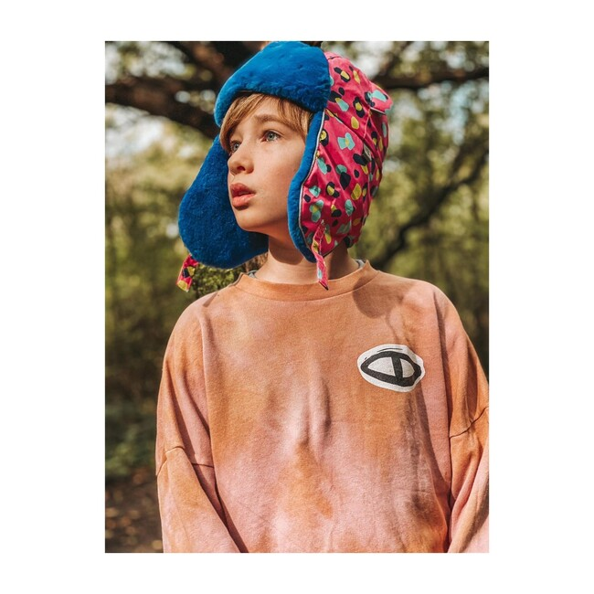 Arctic Cub Hat, Pinkin