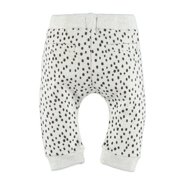 Dots Sweatpants, Crème Melee