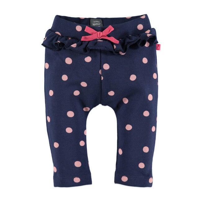 Dots Sweatpants, Deep Blue