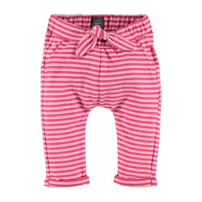 Stripes Sweatpants, Magenta