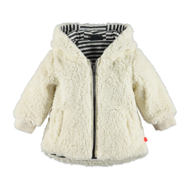 Faux fur Coat, Off White