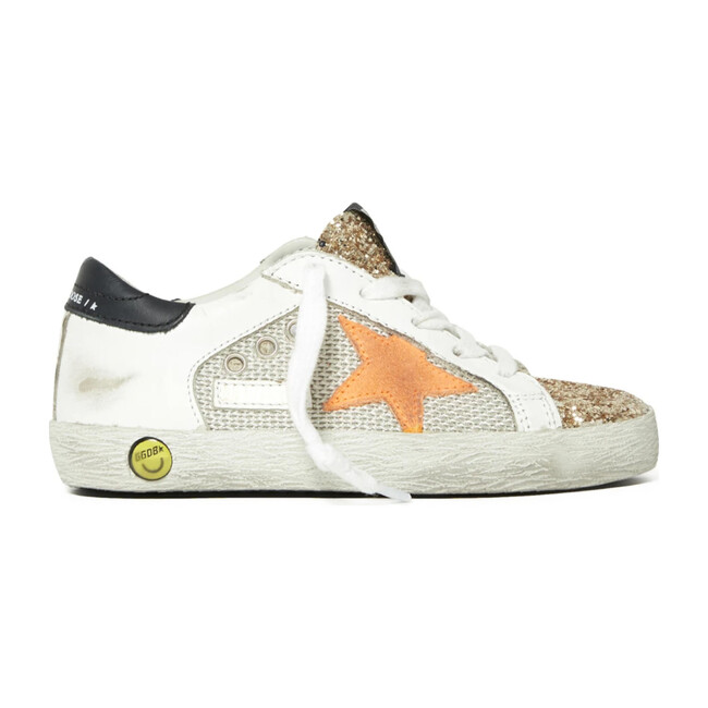 Superstar Suede Orange Sneaker