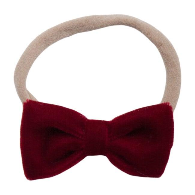 Baby Headband, Red - Bows - 1