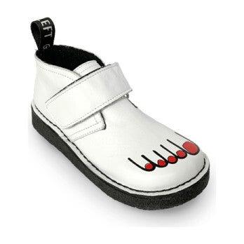 Creepy Creeper Boot, White