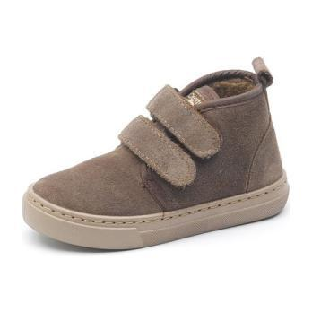 Casual Boot, Brown Suede