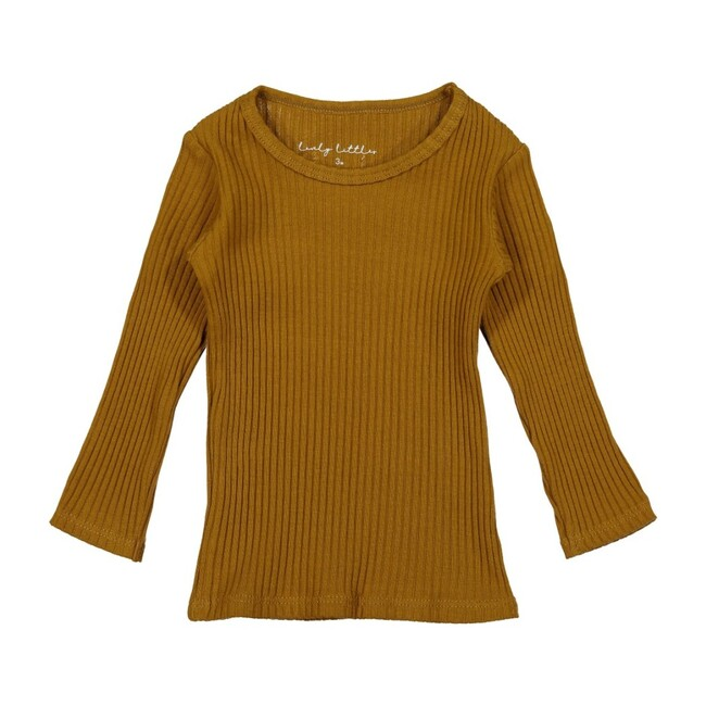 Ribbed Tee, Cider