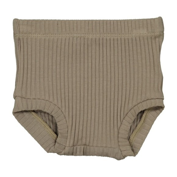 Ribbed Bloomers, Taupe