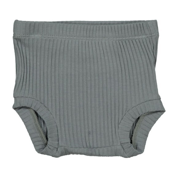 Ribbed Bloomers, Slate