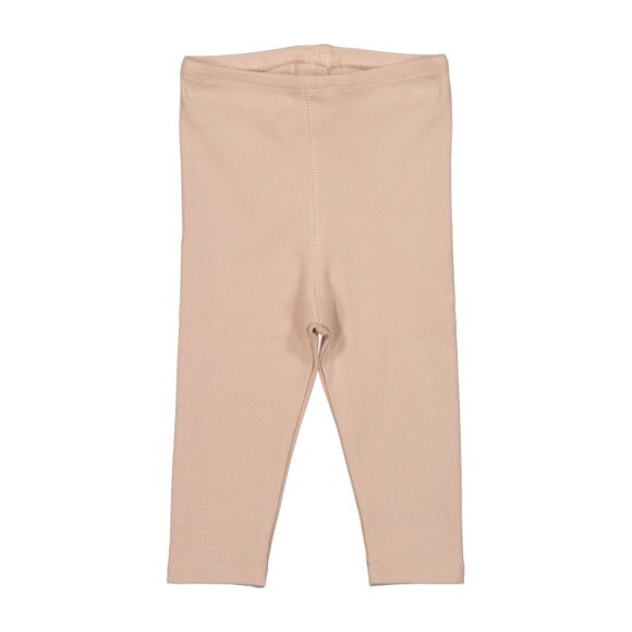 Cotton Leggings, Blush
