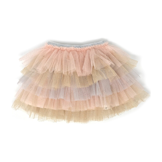 Ombre Stardust Skirt, Sparkle Pink