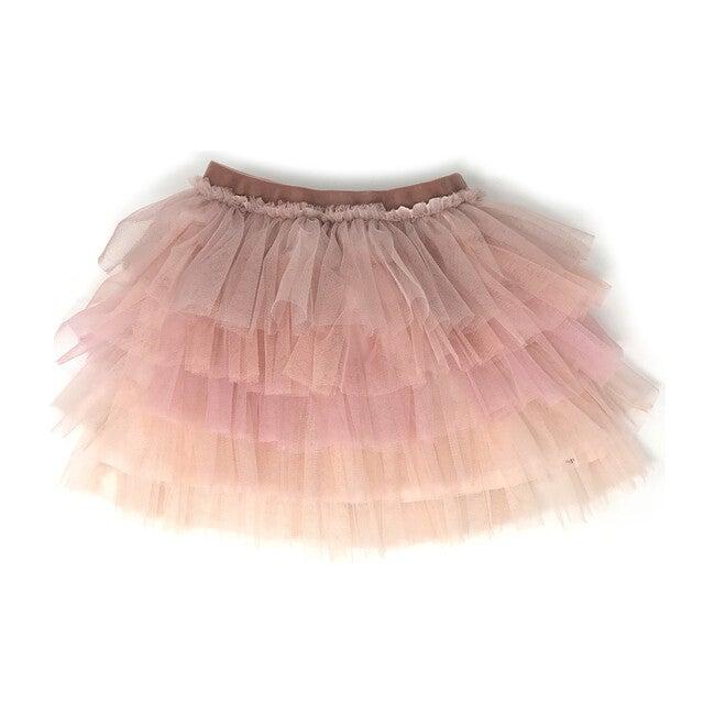 Ombre Stardust Skirt, Blush