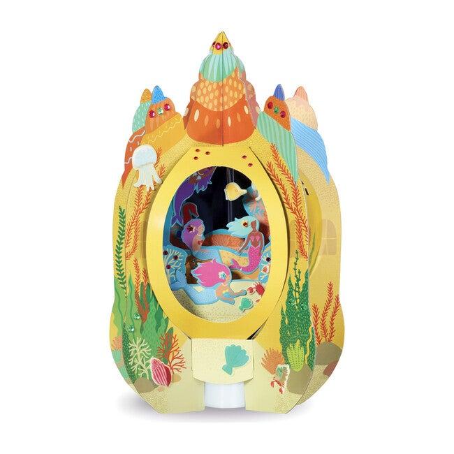 DIY Lantern Lands, Mermaid Castle