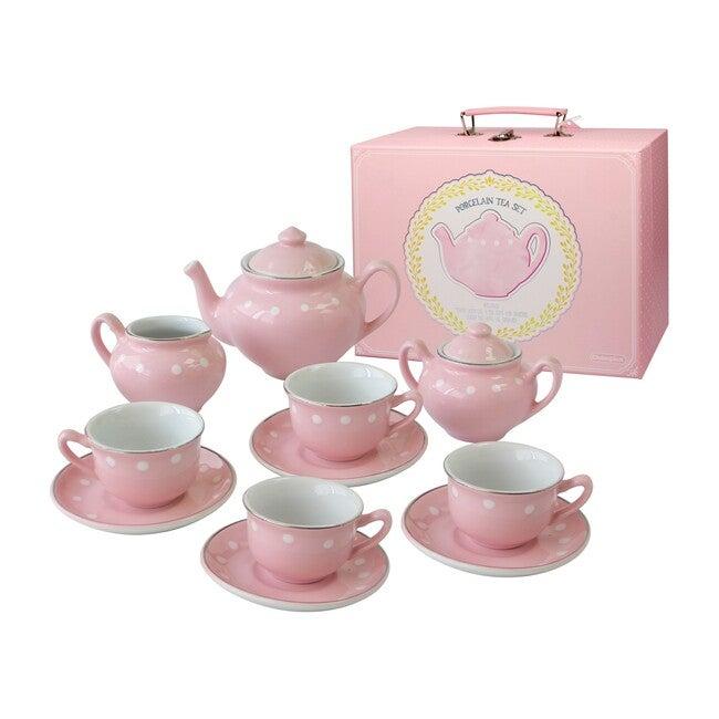 Porcealain Tea Set, Pink