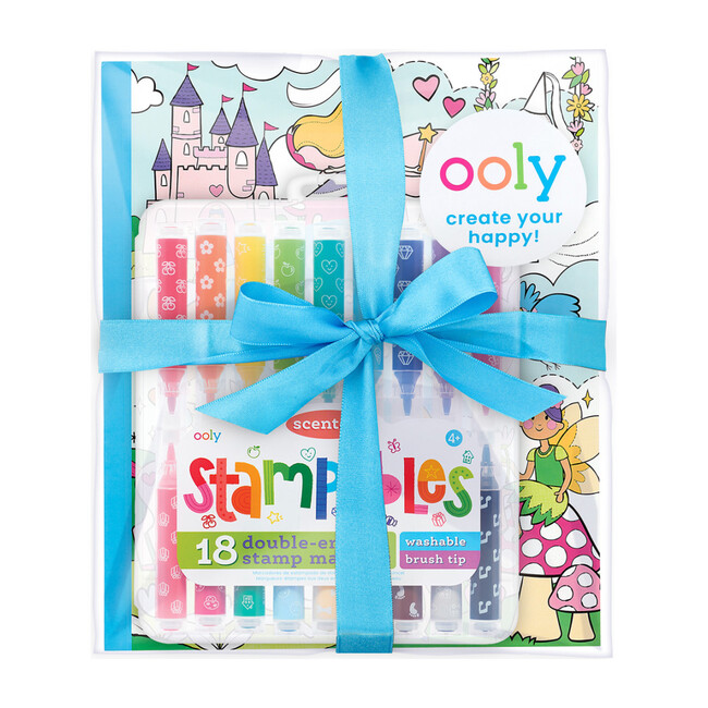 Princess & Fairies Stampables Coloring Pack