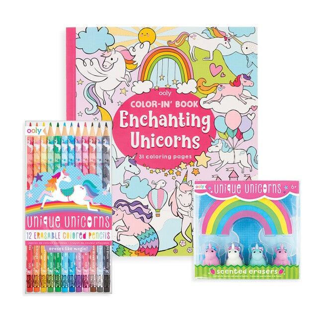 Unique Unicorn Erasable Coloring Pack