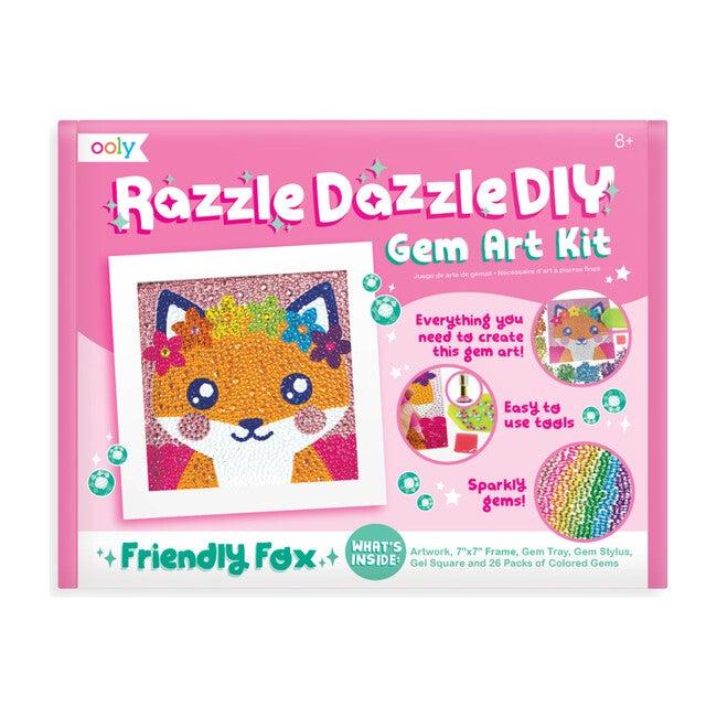 Razzle Dazzle DIY Gem Art Kit, Friendly Fox