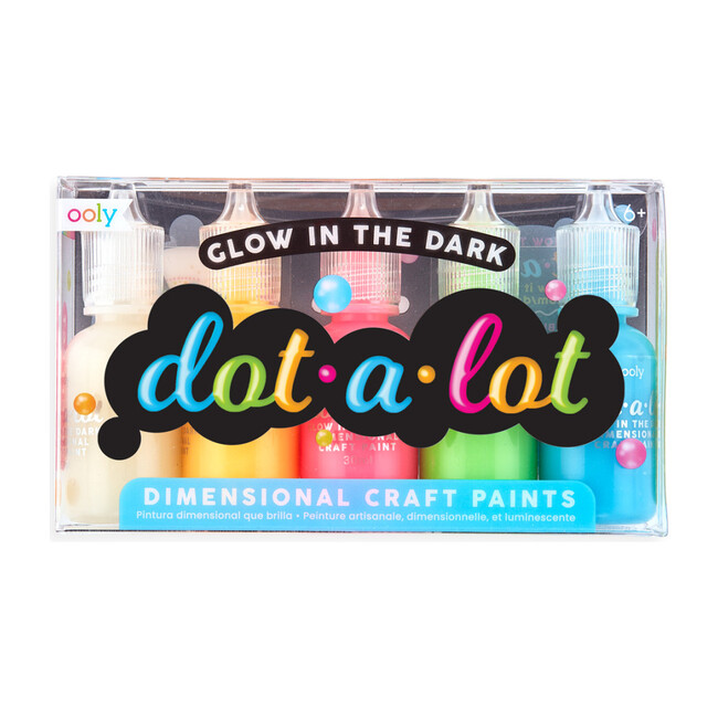 Dot-A-Lot Painting Set, Glow in the Dark - Arts & Crafts - 1