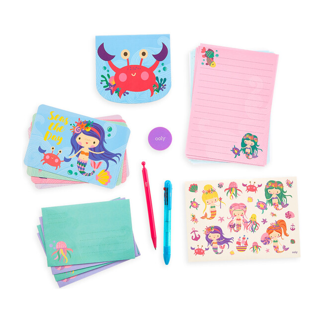 On-the-Go Stationery Kit, Magical Mermaids