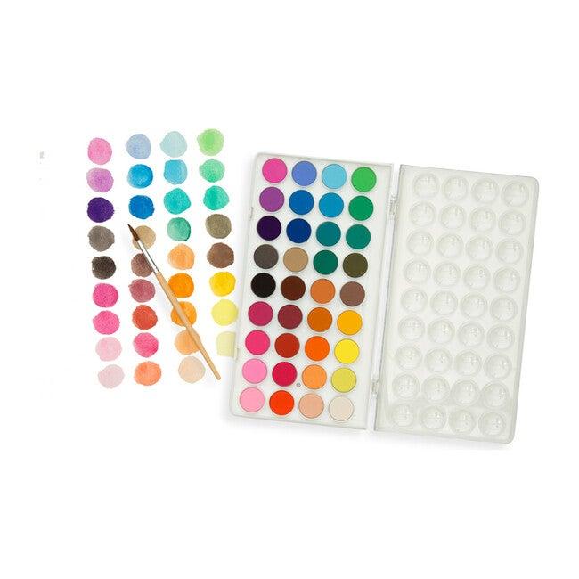 Lil Watercolor Paint Poods & Brush