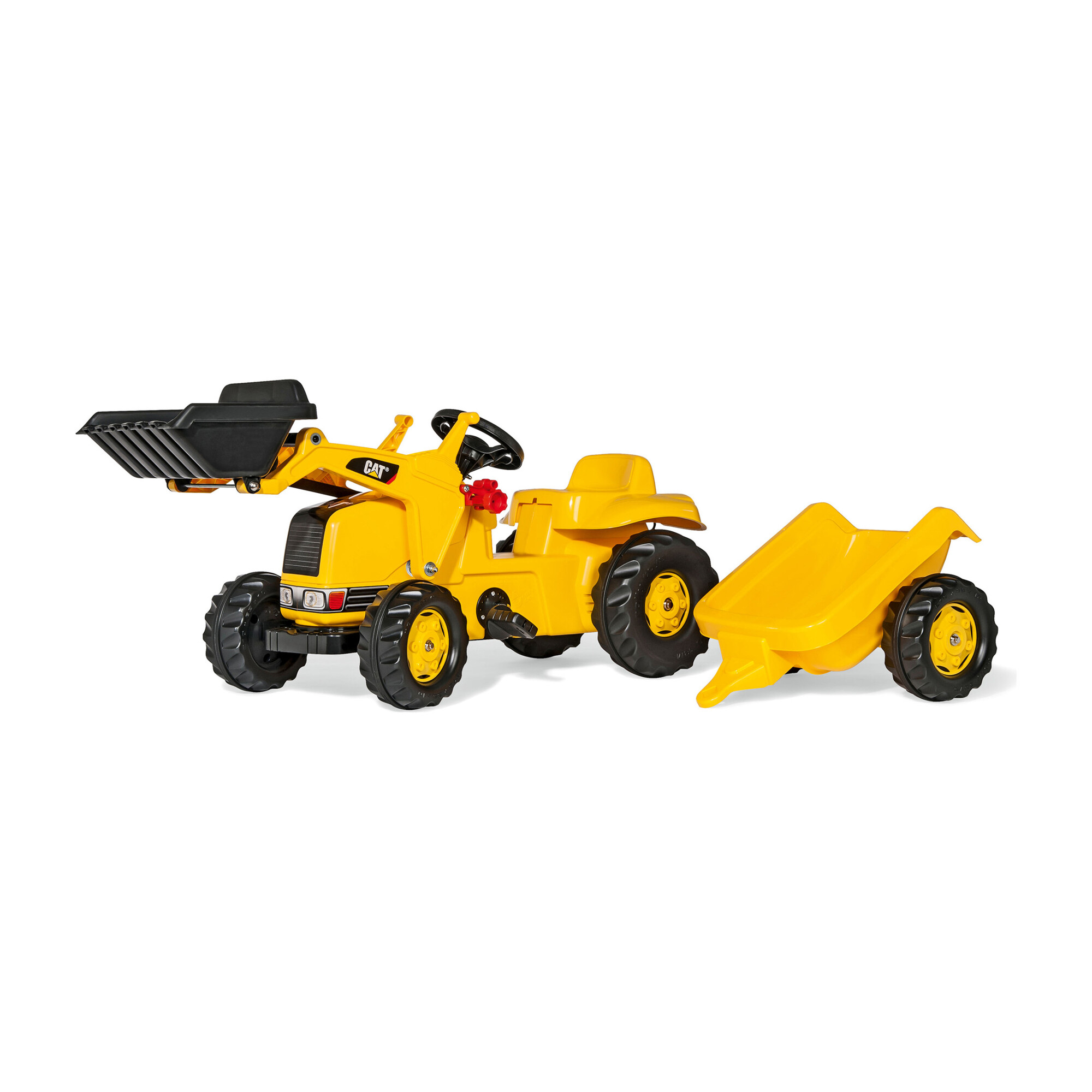 CAT Kid Tractor with Trailer