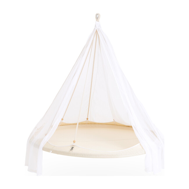 Classic TiiPii Bed, Natural White