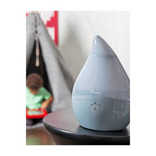 Droplet Ultrasonic Cool Mist Humidifier, Grey