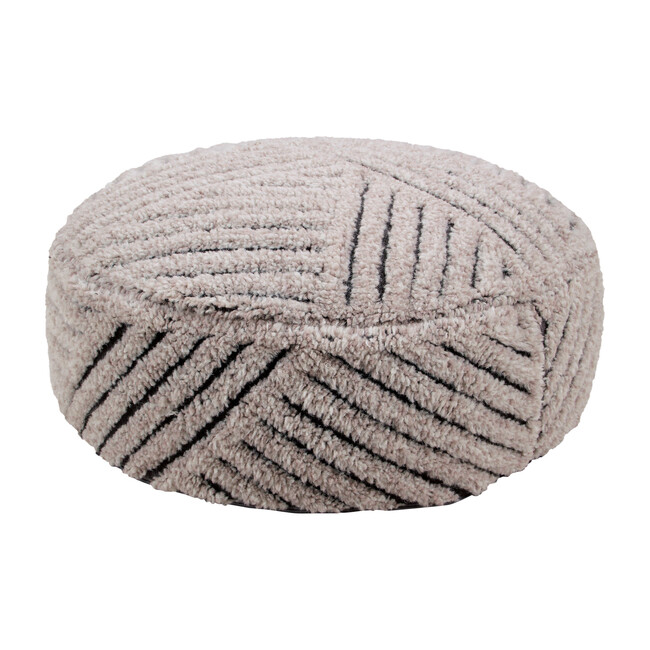 Fields Woolable Pouffe, Natural