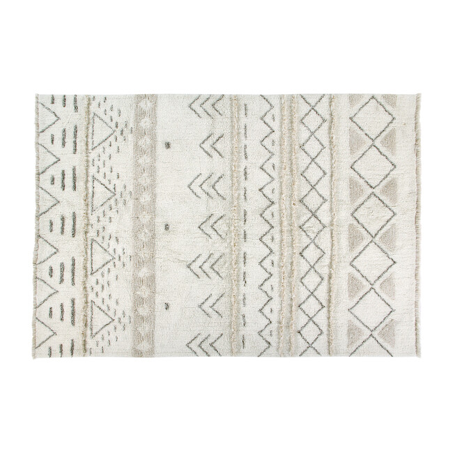 Lakota Day Woolable Rug, Sandstone