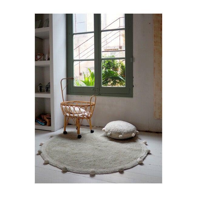 Bubbly Floor Cushion, Olive