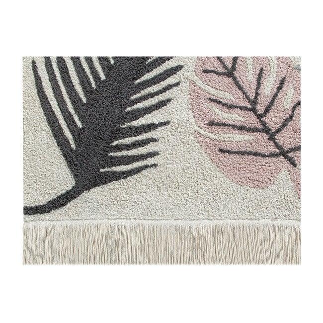 Tropical Washable Rug, Pink