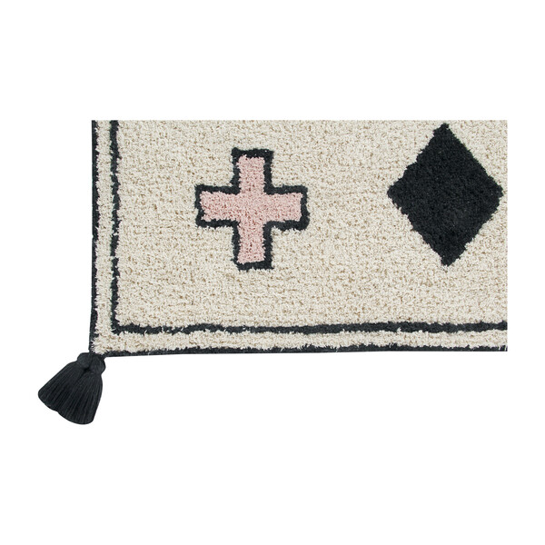 Naador Washable Rug, Multi