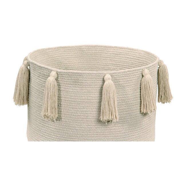 Tassels Basket, Natural