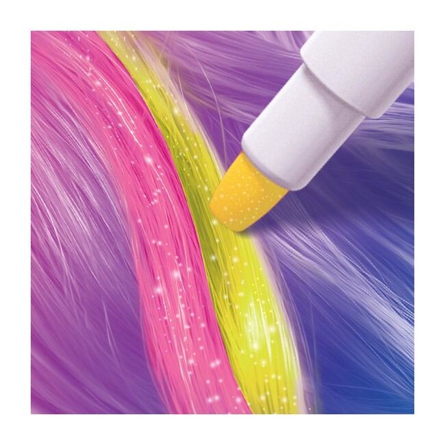 Hair Chalk Pastels & Barrettes Set
