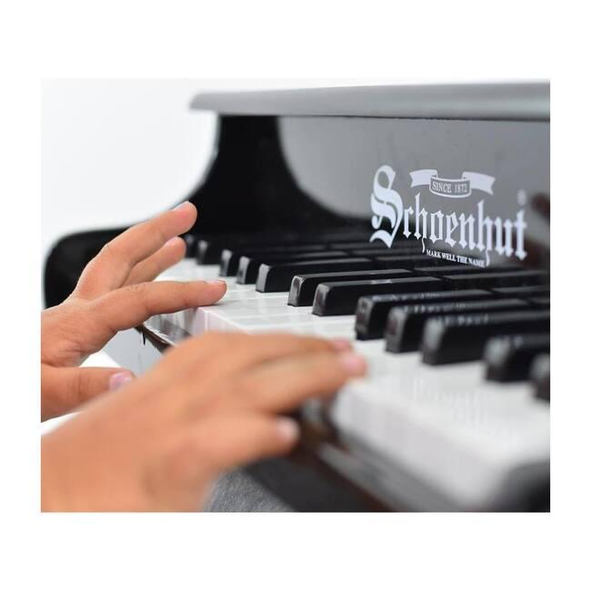 30-Key Fancy Baby Grand Piano, Black