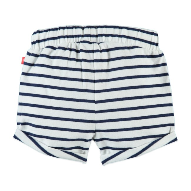 Stripe Shorts, Midnight Blue