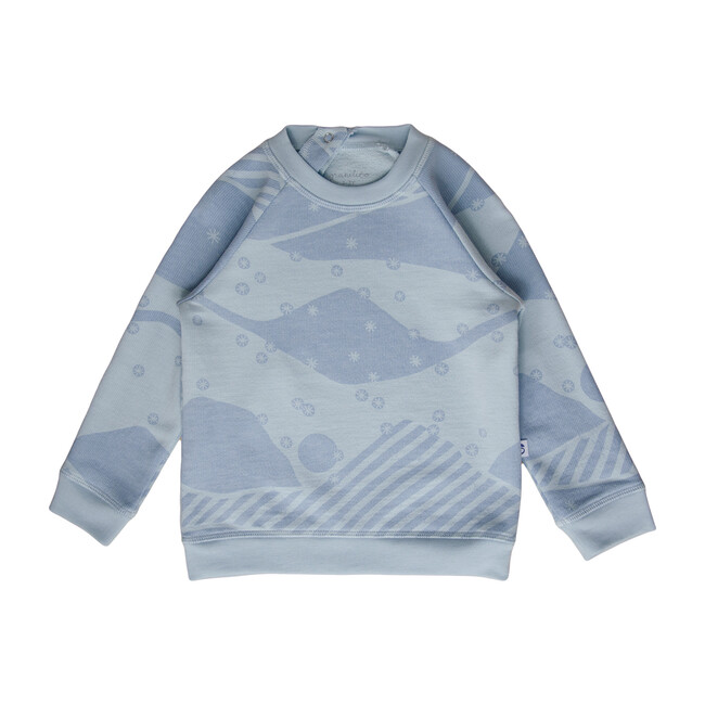 Mountain Sweatshirt, Blue Dawn