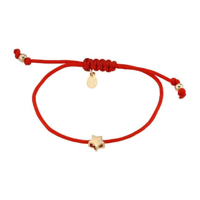 14k Gold Star Fortune Bracelet