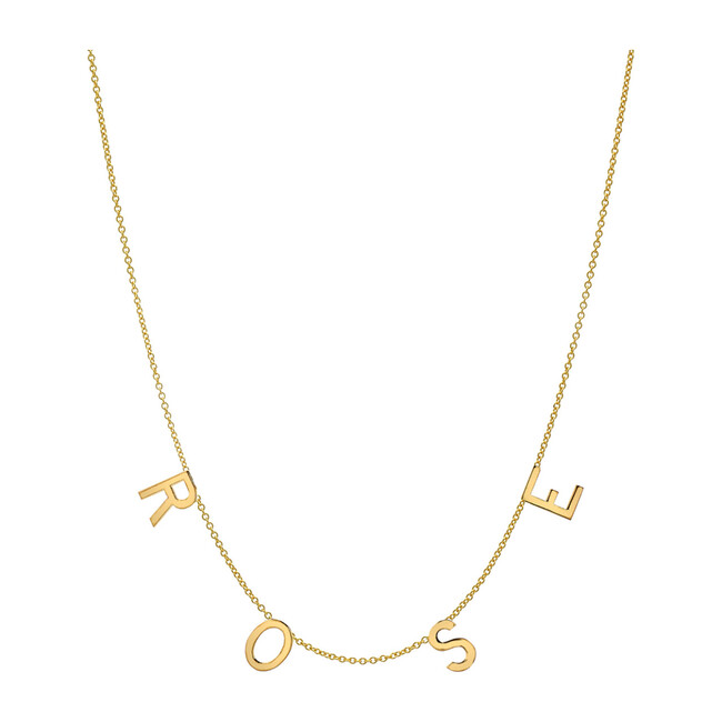 14k Gold Space Necklace