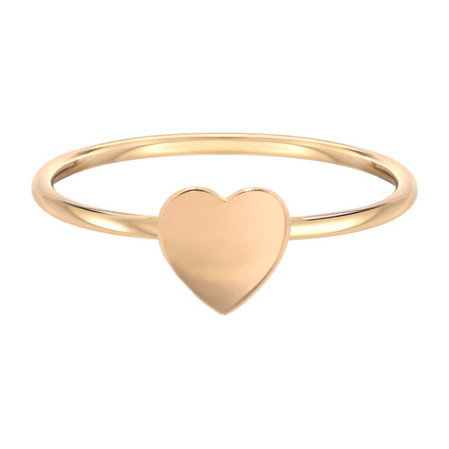 14k Gold Heart Ring