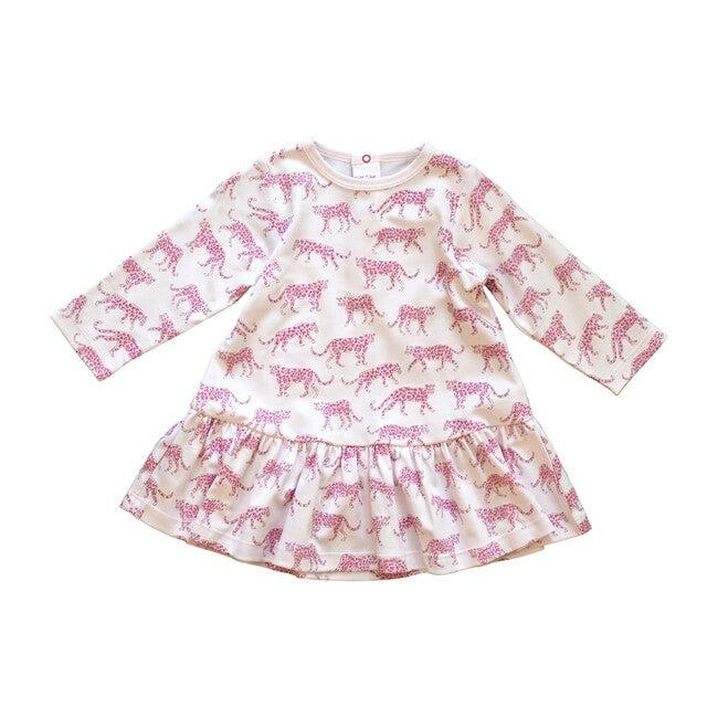Pink Cheetah Swing Dress
