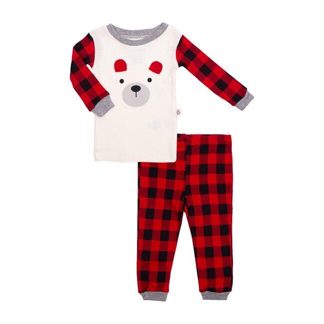 2 Piece Pajama Set, Buffalo Plaid