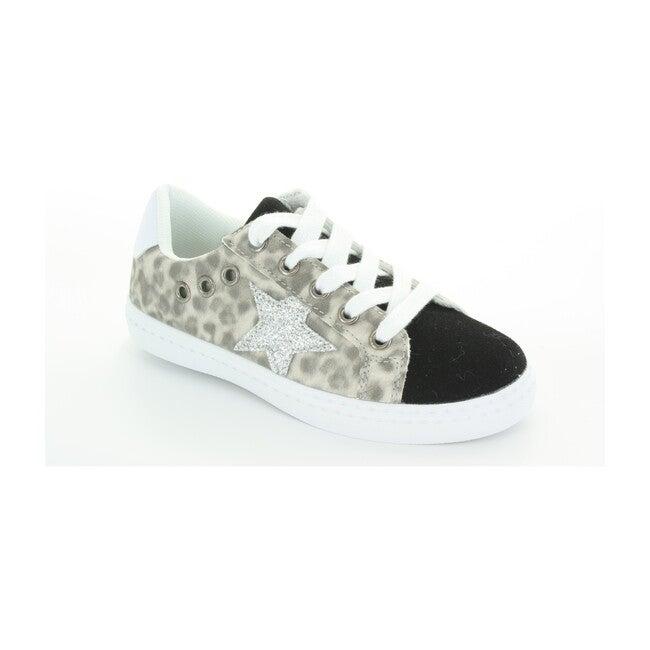 Mia Star Lace Sneaker, Leopard Print