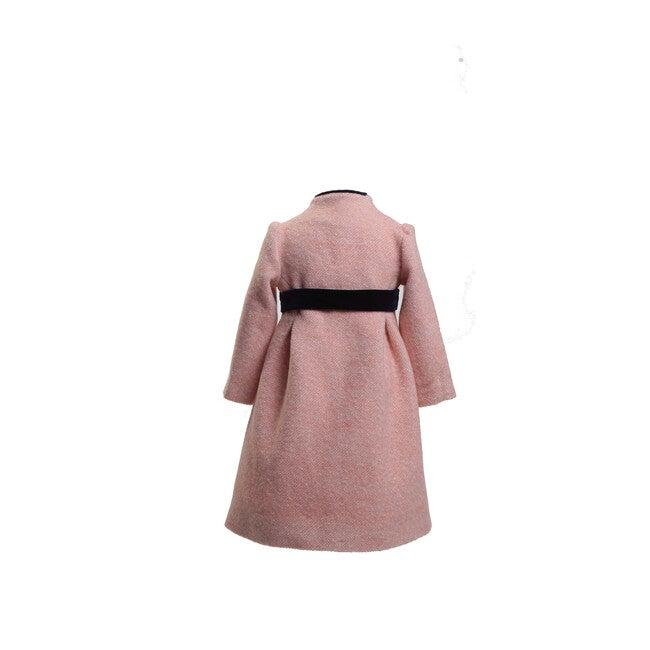 Wool Coat, Pink