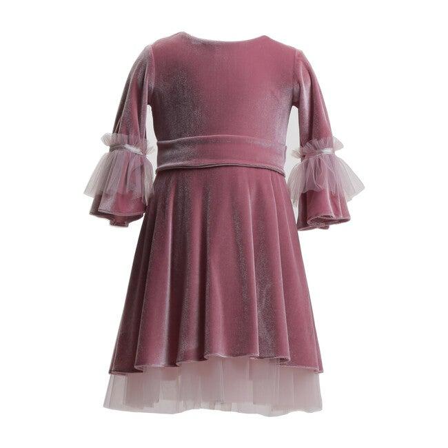 Velvet Dress, Royal Pink